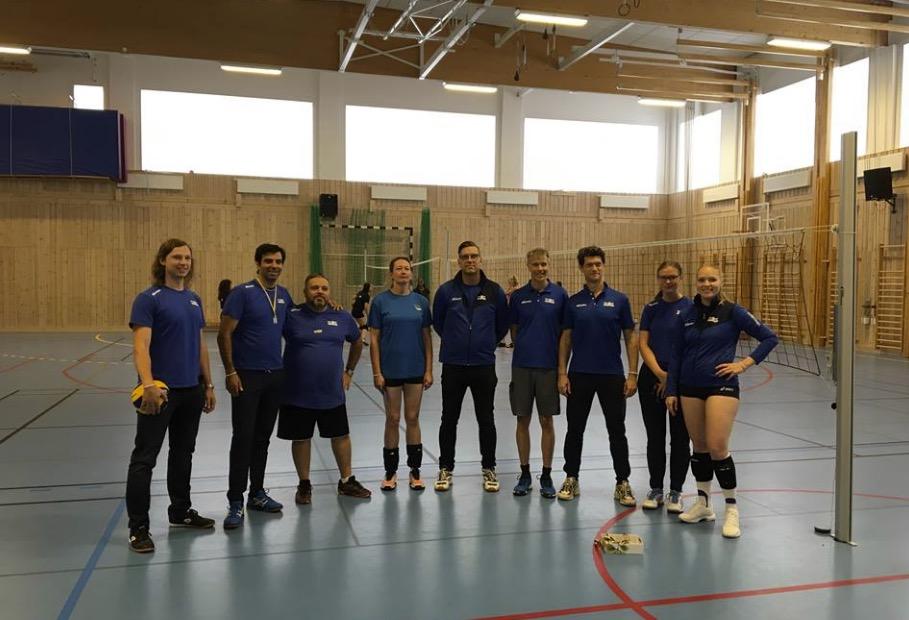 Några ur Solna VBK:s duktiga tränarstab 2018